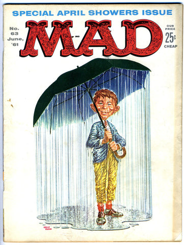 MAD magazine #063   VERY GOOD+   1961