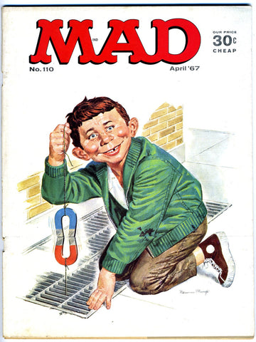 MAD magazine #110   VERY FINE-   1967