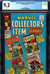 Marvel Collectors' Item Classics #06 CGC graded 9.2 white pages