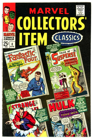 Marvel Collectors' Item Classics #08  VERY FINE+ 1967