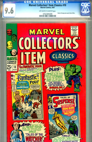 Marvel Collectors' Item Classics #10  CGC graded 9.6  HG - SOLD!