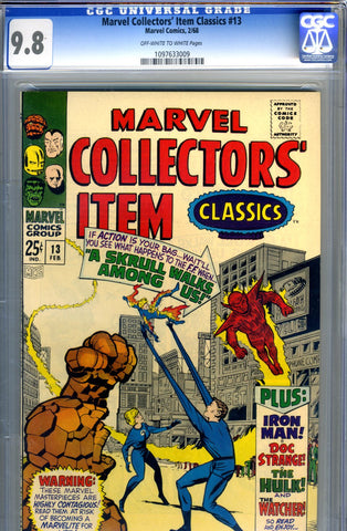 Marvel Collectors' Item Classics #13   CGC graded 9.8 - SOLD
