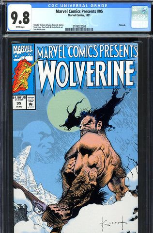 Marvel Comics Presents #095 CGC graded 9.8 - HIGHEST GRADED