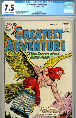 My Greatest Adventure #38 CGC graded 7.5