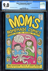 Mom's Homemade Comics #1 CGC graded 9.0 white pages - 1st print