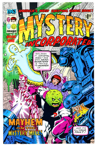 Mystery Incorporated Book One 1963 #1 (two copies) (Image Comics)