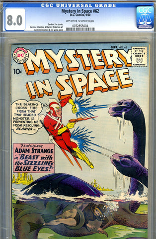 Mystery in Space #62   CGC graded 8.0 - SOLD!