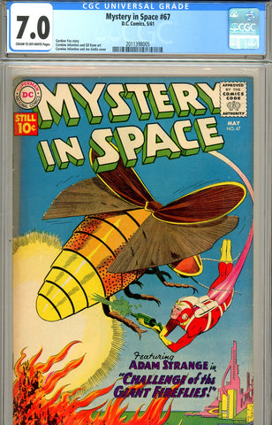 Mystery In Space #67 CGC graded 7.0