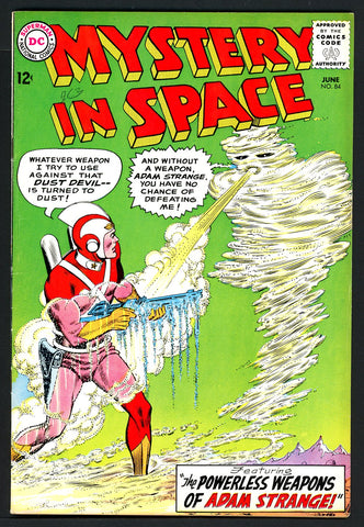 Mystery in Space #84   VERY FINE   1963
