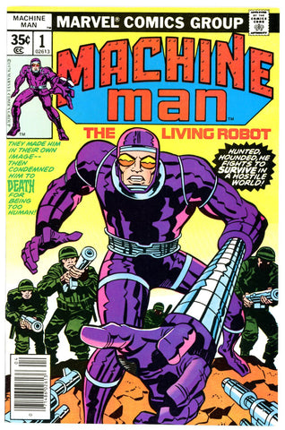 Machine Man #1  VERY FINE +   1978