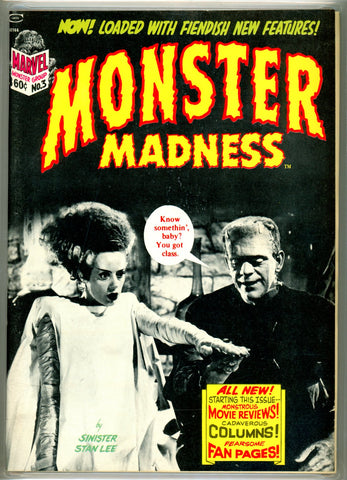 Monster Madness #3 CGC graded 9.6 - white pages SOLD!