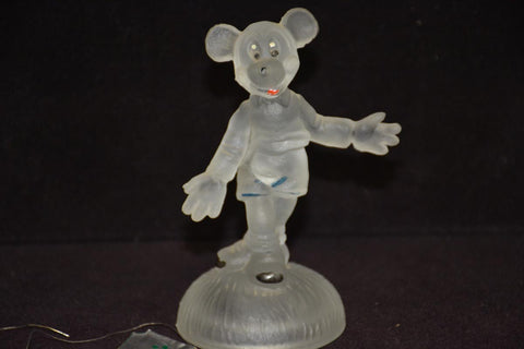 DISNEY Mickey Mouse glass figure