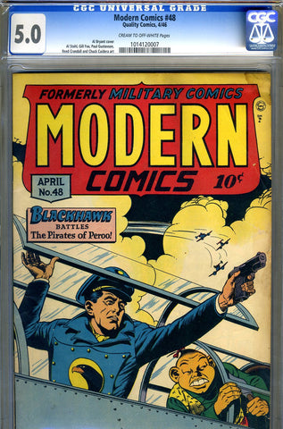 Modern Comics #48   CGC graded 5.0 - SOLD