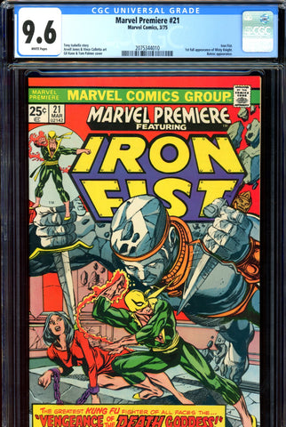 Marvel Premiere #21 CGC graded 9.6 - first FULL Misty Knight - SOLD!
