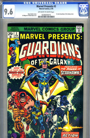 Marvel Presents #3   CGC graded 9.6 - SOLD
