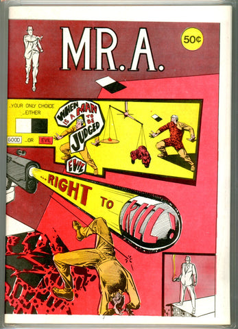 Mr. A #nn CGC graded 9.6 - white pages  SOLD!