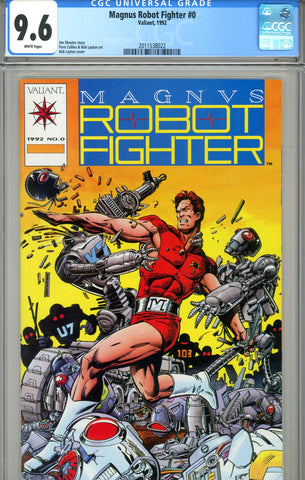 Magnus, Robot Fighter #0 CGC graded 9.6