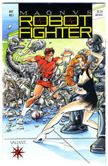 Magnus, Robot Fighter #01   NEAR MINT   (no coupon)