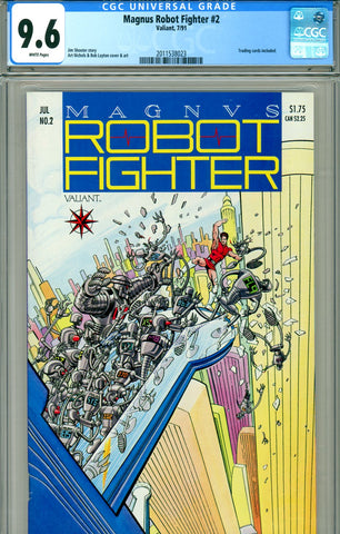 Magnus, Robot Fighter #02 CGC graded 9.6 - SOLD!