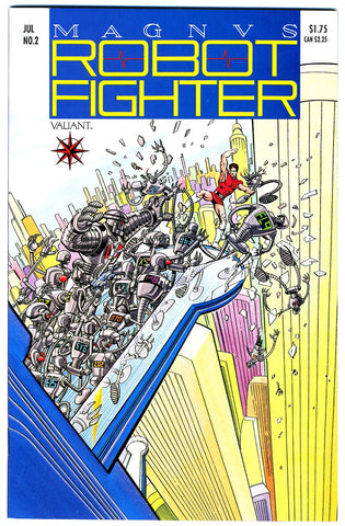 Magnus, Robot Fighter #02   NEAR MINT-   (no coupon)