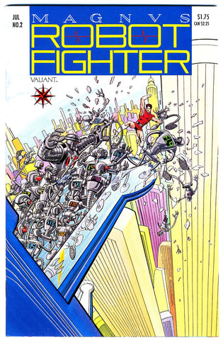 Magnus, Robot Fighter #02   VF/NEAR MINT