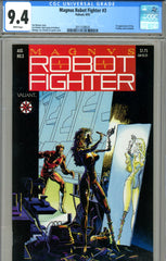 Magnus, Robot Fighter #03 CGC graded 9.4 first Elzy