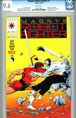 Magnus, Robot Fighter #07   CGC graded 9.6 - first X-O Armor