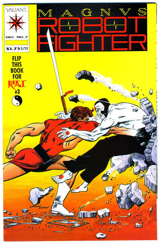 Magnus, Robot Fighter #07   NEAR MINT-   (no coupon)