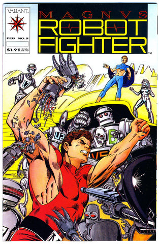 Magnus, Robot Fighter #09   VF/NEAR MINT