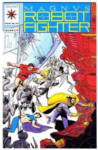 Magnus, Robot Fighter #10   VF/NEAR MINT
