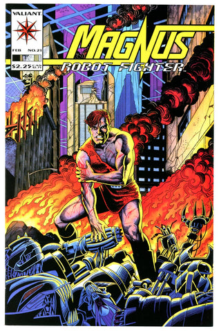 Magnus, Robot Fighter #21 NEAR MINT+  (two copies)