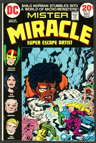 Mister Miracle #16   VF/NEAR MINT   1973