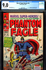 Marvel Super-Heroes #16 CGC graded 9.0  first S.A. Phantom Eagle