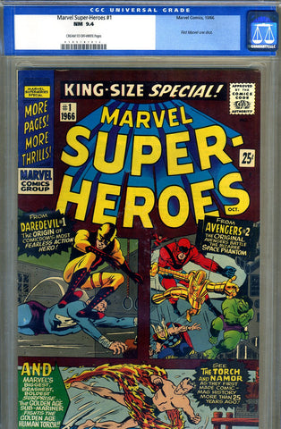 Marvel Super-Heroes #1   CGC graded 9.4  ( one shot ) - SOLD!