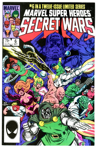 Marvel Super Heroes Secret Wars #6 VF/NEAR MINT
