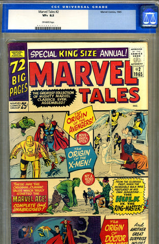 Marvel Tales #02   CGC graded 8.5 - SOLD