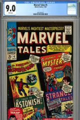 Marvel Tales #05 CGC graded 9.0 white pages