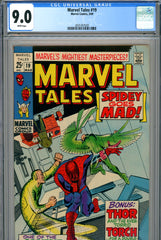 Marvel Tales #19 CGC graded 9.0 white pages