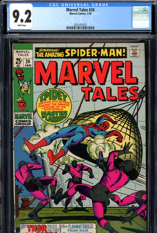 Marvel Tales #24 CGC graded 9.2 white pages