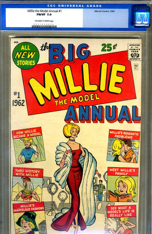 Millie the Model Annual #1   CGC graded 7.0 - SOLD