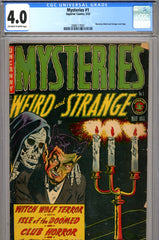 Mysteries #1 CGC graded 4.0 - skeleton cover