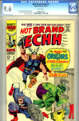 Not Brand Echh #3   CGC graded 9.6  white pages