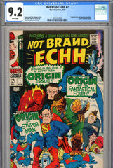 Not Brand Echh #07 CGC graded 9.2 white pages