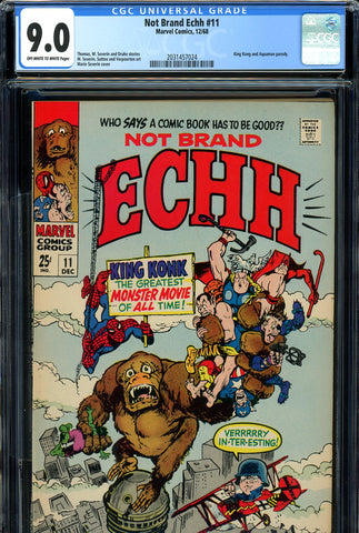 Not Brand Echh #11 CGC graded 9.0 Giant-Size