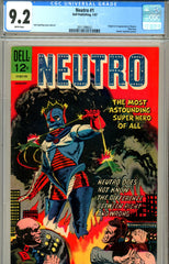 Neutro #1 CGC graded 9.2 only issue