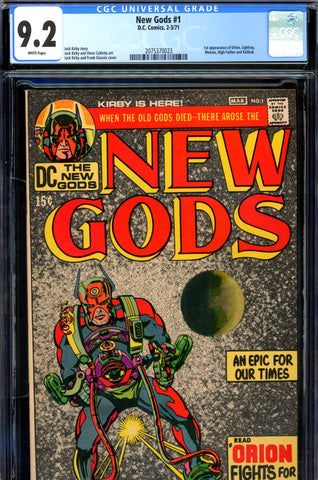 New Gods #01 CGC graded 9.2 - first appearance of New Gods SOLD!
