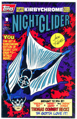 TOPPS - Night Glider #1 (one-shot) polybagged w/chromium card NM  (two copies)