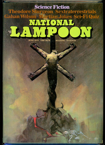National Lampoon #27 CGC graded 9.2 classic Frazetta cover SOLD!