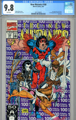 New Mutants #100 CGC graded 9.8 first X-Force - last issue
