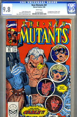 New Mutants #87   CGC graded 9.8 - first Cable
